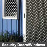 Security door and window products from Ullrich Aluminium