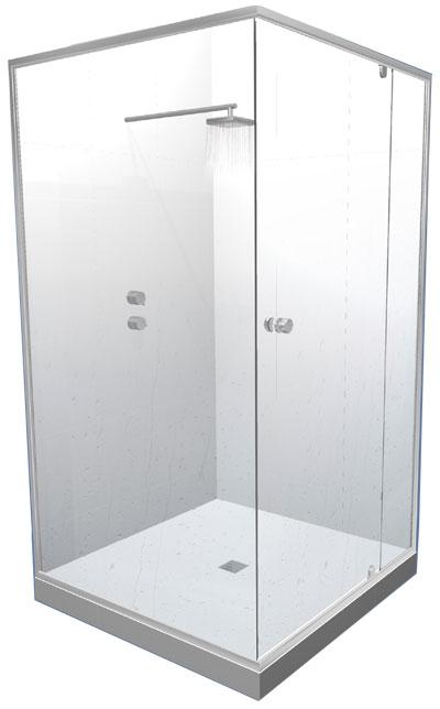 Bella Doccia Shower Screens From Ullrich Aluminium