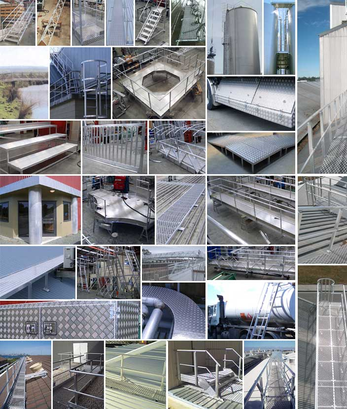Ullrich fabricate a range of ladders, bridges, roof access ways, walkways, silo ladders, platforms