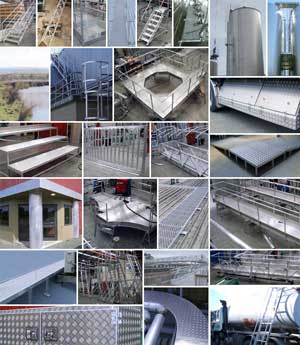 Ullrich have a wide range of fabricated aluminium products