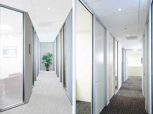 Designer Partitioning System easy installation