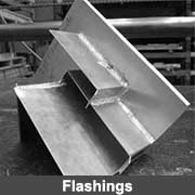 Aluminium fabricated flashings from Ullrich Aluminium