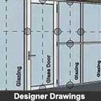 Key to the Partitioning Drawings