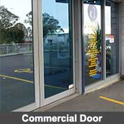 Commercial doors - aluminium extrusions from Ullrich Aluminium