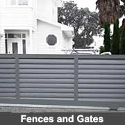 Aluminium fabricated fencing panels and gates from Ullrich Aluminium