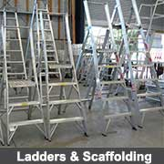 Aluminium fabricated ladderss from Ullrich Aluminium