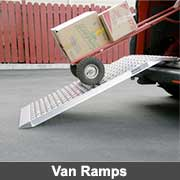 Aluminium fabricated van ramps from Ullrich Aluminium