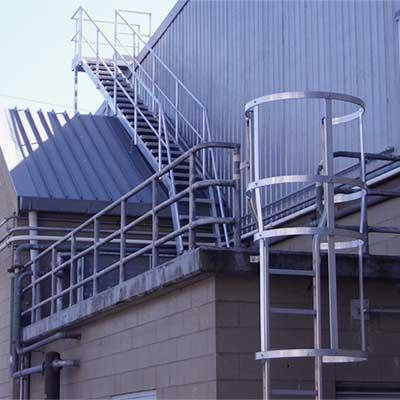 Aluminium Roof Access Ways, Roof Walkways and Roof Platforms