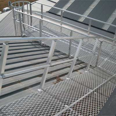 Fabricated roof access
