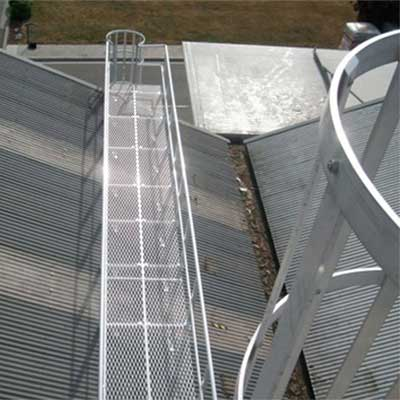 Aluminium Roof Access Ways, Roof Walkways and Roof Platforms