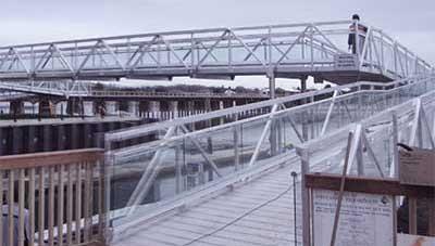 Aluminium Bridges Walkways Access Ways Fabricated By Ullrich