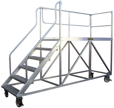 Aluminium Ladders Walkways Access Ways Fabricated By Ullrich