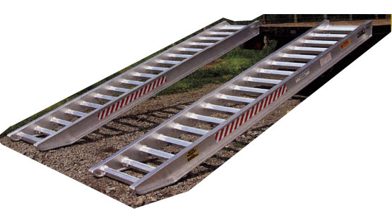 Ramps for trucks and trailers