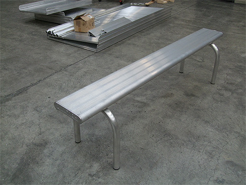 Bench seating systems
