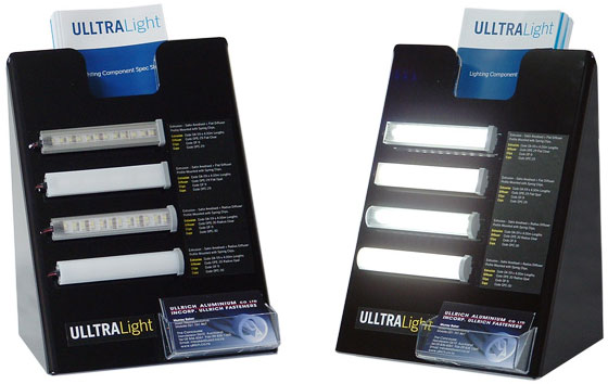 LED lighting extrusions Ulltralite
