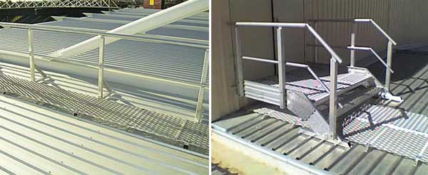 Aluminium Roof Access Ways Roof Walkways And Roof