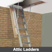 Attic ladders from Ullrich Aluminium