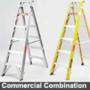 Commercial combination Ladders from Ullrich Aluminium