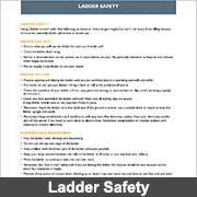 Ladder safety from Ullrich Aluminium