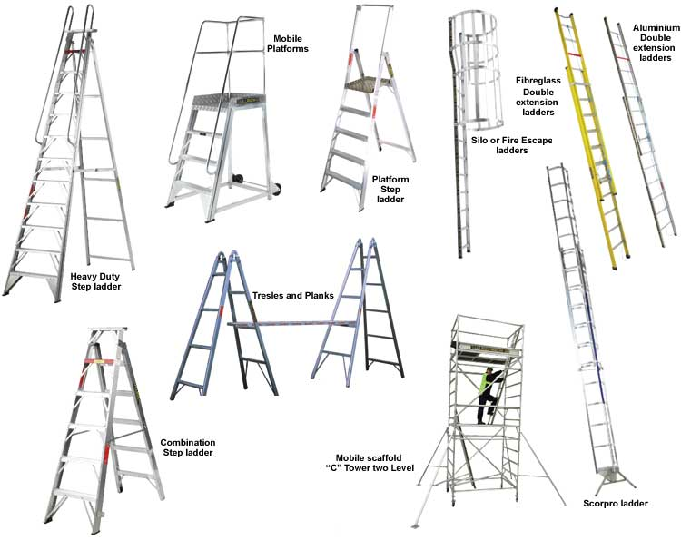 Commercial Aluminium Ladders From Ullrich Combination