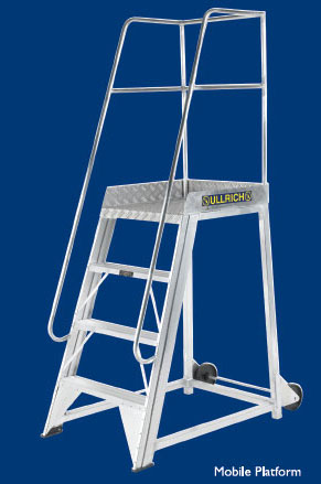 Commercial Mobile Platforms From Ullrich Aluminium From
