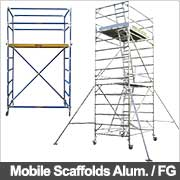 Mobile scaffolding from Ullrich Aluminium
