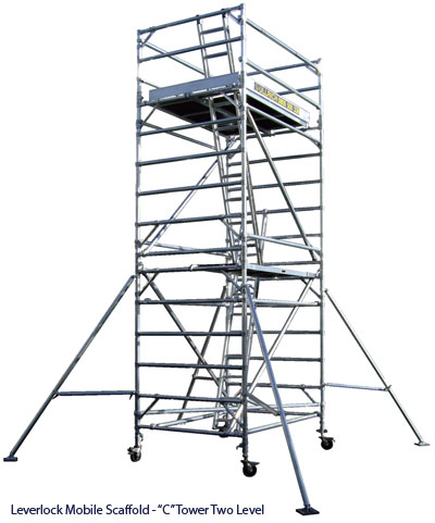 Mobile Painters Scaffolds From Ullrich Aluminium