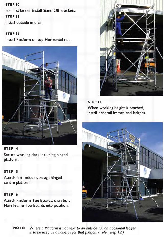Mobile Painters Aluminium Scaffolding From Ullrich Aluminium