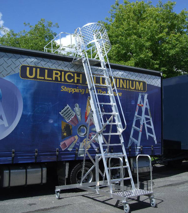 Commercial Aluminium Truck Access Ladders From Ullrich