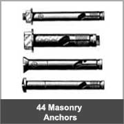 Masonry Anchors 44