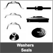 Metal washers and seals