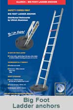 Ladder anchor pads - Big Foot