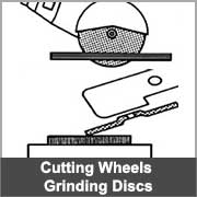 Cutting discs and grinding wheels