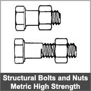 Structural engineers bolts