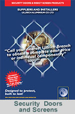 Security Doors and Screens from Ullrich