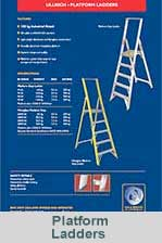 Ladder safety brochure