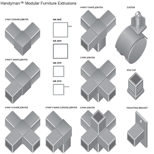 Product Aluminium Sections : Extrusions